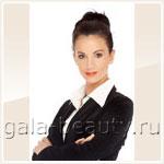 Прическа для деловой женщины